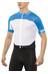 POC Raceday Climber Jersey korte mouwen Heren blauw/wit